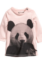 Dress and leggings - Light pink/WWF - Kids | H&M CN 3