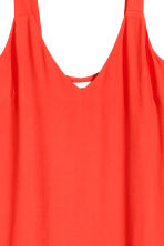 V-neck dress - Red - Ladies | H&M CN 4