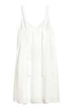 V-neck dress - White - Ladies | H&M CN 3