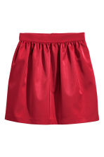 Gonna corta - Rosso scuro - DONNA | H&M IT 2