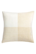 Glittery cushion cover - White/Gold - Home All | H&M CN 2