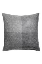 Glittery cushion cover - Grey/Silver - Home All | H&M CN 1