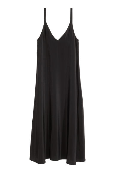 V-neck dress - Black - Ladies | H&M CN 1