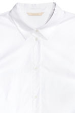 Cotton blouse - White - Ladies | H&M CN 3