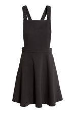 Jersey dungaree dress - Black - Ladies | H&M CN 2