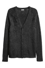 V-neck cardigan - Black - Men | H&M CN 2