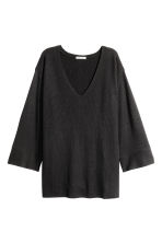 Knitted jumper - Dark grey marl - Ladies | H&M CN 2