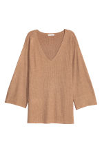 Knitted jumper - Beige marl - Ladies | H&M CN 2