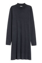 Fine-knit dress - Dark blue -  | H&M CN 2