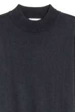Fine-knit dress - Dark blue -  | H&M CN 3