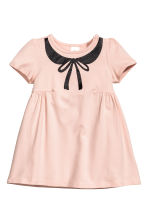 Jersey dress - Powder pink - Kids | H&M CN 1
