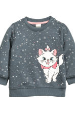 Sweatshirt and trousers - Dark grey/Aristocats - Kids | H&M CN 3