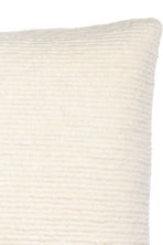 Textured cushion cover - White - Home All | H&M CN 2