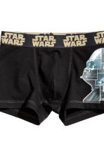 2-pack boxer shorts - Black/Star Wars - Kids | H&M CN 3
