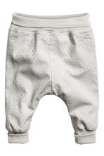 Pull-on trousers - Light grey - Kids | H&M CN 1