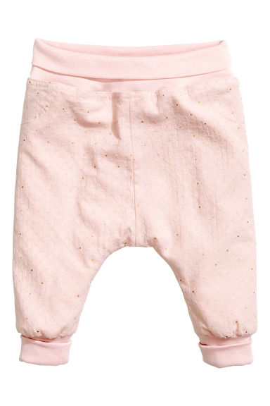 Pantaloni pull-on - Rosa cipria -  | H&M IT 1