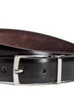Reversible belt - Black -  | H&M CN 4