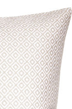 Jacquard-weave cushion cover - White/Patterned - Home All | H&M CN 2