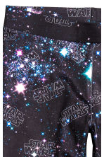 Patterned leggings - Black/Star Wars - Kids | H&M CN 3