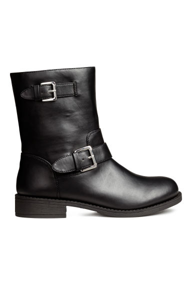 Biker boots - Black - Ladies | H&M CN 1