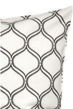 Patterned cushion cover - White - Home All | H&M CN 2