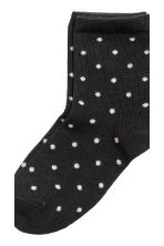 5-pack socks - Nat. white/Spotted - Kids | H&M CN 2