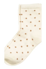 5-pack socks - Nat. white/Spotted - Kids | H&M CN 3