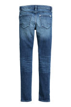 Skinny Fit Jeans with sequins - Denim blue -  | H&M CN 3