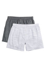 2-pack boxer shorts - Black/White - Men | H&M CN 1