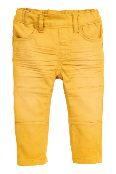 Treggings - Yellow - Kids | H&M CN 1