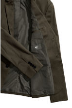 Cotton jacket - Dark khaki green - Men | H&M CN 3