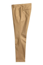 Cotton suit trousers - Dark beige - Men | H&M CN 2