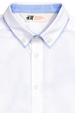 Cotton shirt - White - Kids | H&M CN 3