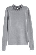 Fine-knit jumper - Grey - Ladies | H&M CN 1
