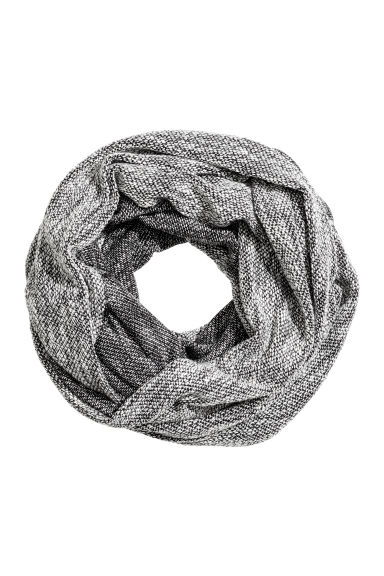 Marled tube scarf - Black - Ladies | H&M CN 1