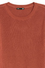 Fine-knit jumper - Rust - Ladies | H&M CN 6