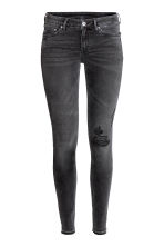 Super Skinny Low Jeans - 水洗黑色 - 女士 | H&M CN 2