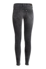 Super Skinny Low Jeans - Black washed out - Ladies | H&M CN 3