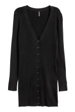 Long cardigan - Black - Ladies | H&M CN 2