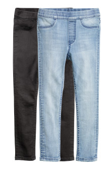 2-pack denimleggings