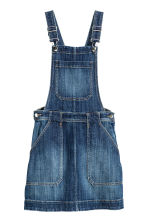 Dungaree dress - Dark denim blue - Ladies | H&M CN 2
