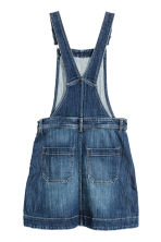 Dungaree dress - Dark denim blue - Ladies | H&M CN 3