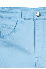 Twill shorts - Light blue - Ladies | H&M CN 3