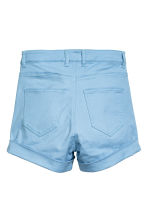 Twill shorts - Light blue - Ladies | H&M CN 2