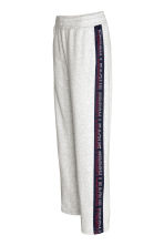 Sports trousers - Light grey marl - Ladies | H&M CN 3