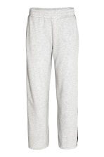 Sports trousers - Light grey marl - Ladies | H&M CN 2