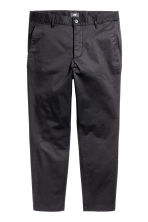 Chinos Slim Cropped - Nero - UOMO | H&M IT 2