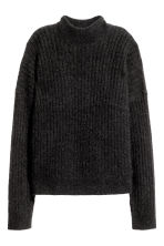 Mohair-blend jumper - Black -  | H&M GB 2