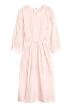 Dress with balloon sleeves - Light pink - Ladies | H&M CN 2