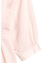 Dress with balloon sleeves - Light pink - Ladies | H&M CN 4